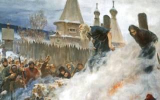 Церковная реформа XVII века и раскол.
