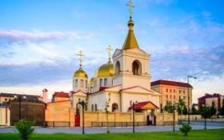Сколько церквей в чечне на сегодня. В Чеченской республике появился новый православный храм