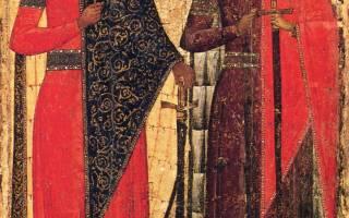 Святые борис и глеб. Тропарь святым благоверным князьям-страстотерпцам Борису и Глебу