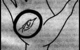Ведьмин глаз на ладони значение. Ведьмин знак на руке: как распознать настоящую ведьму