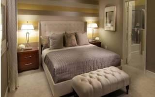 Размещение кровати в спальне по фэн шуй. Интерьер и цвет спальни