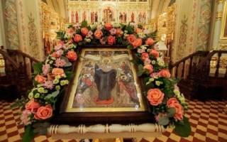 Слово в день иконы Божией Матери «Всех скорбящих Радосте. Календарь почитания икон пресвятой богородицы