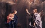 150 раз чтение богородицы. Благовещение Пресвятой Богородицы: приметы, обычаи и традиции праздника