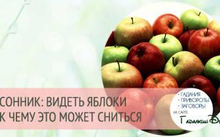 Сне вкусные яблоки. К чему снятся яблоки женщине