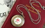 Сонник золотой медальон. Кулон с иконой