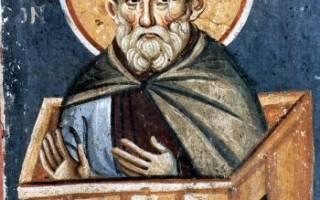 Преподобный Симеон Столпник (459 г.). Преподобный симеон столпник дивногорец