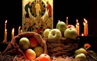Что означает православный праздник преображение господне. Преображение господне