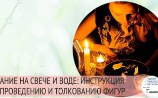 Гадание свечами и тарелка. Гадание со свечой и водой
