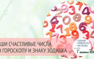 Как вычислить счастливое число по знаку зодиака. Какое число самое счастливое