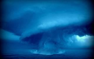 Сонник толкование снов к чему снится торнадо. Смерч торнадо ураган