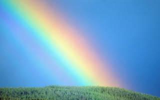 Как образуется радуга для детей. Причины появления радуги