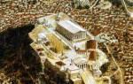 Интересные факты о парфеноне. Парфенон – величественный храм древней Греции