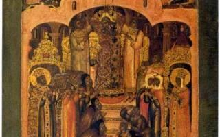 Поздравить с воздвижением креста господня. Митрополит Антоний Сурожский