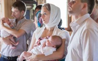 Что должна делать крестная на крестинах девочки. Крещение: что нужно знать родителям