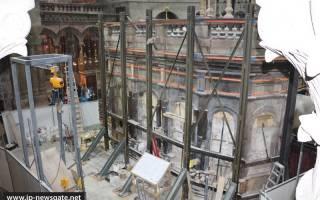 Гроб господень после реставрации. «Плита Гроба Господня — новодел»: о реконструкции главного храма христианства