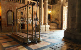 Что такое кувуклия храма гроба господня. Двор и его постройки