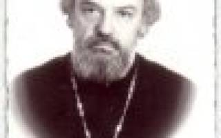 Александр мень священник биография. Биография прот