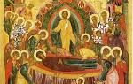 Скачать последование чина погребения пресвятой богородицы. О совершении чина погребения божией матери