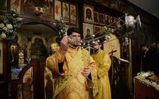 Какой цвет православия. Цвет облачения