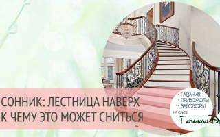 Сонник карабкаться по лестнице. Сонник: к чему снится лестница