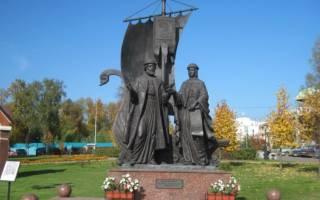 Феврония 8 июля. Памятники муромской паре