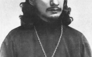 Павел флорентийский. Флоренский павел александрович
