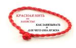 Как и когда завязать красную нить. Можно ли носить православным? Как следует повязывать красную нить от сглаза