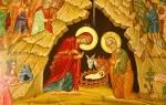 Рождество Христово: даты, история, традиции. Рождество Христово: история, приметы, традиции