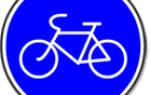 Знак дорожного движения кататься на велосипеде запрещено. Знак, запрещающий движение на велосипеде