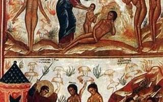 Рай в христианстве. Что такое ад? Представление о грехе