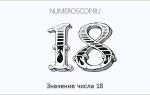 Люди которые родились 18. Тайны чисел — восемнадцать (18)