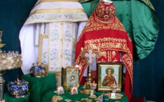 Церковные цвета богослужений. Цвета богослужебных облачений