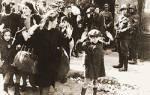 Когда было создано первое гетто в польше. Восстание в варшавском гетто