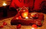 Наличие знаков на чае и их значение. Любовное гадание на чае