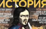 Журнал история русская семерка. Русская семёрка
