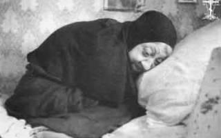Схимонахиня макария артемьева пророчества. Богом данная