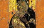 Иконографический тип иконы владимирской богоматери. Владимирская икона Божией Матери