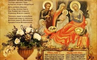 21 сентября какой церковный праздник открытия. Когда празднуется Рождество Богородицы