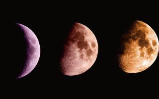 Когда будет нарастающая луна в. Растущая луна