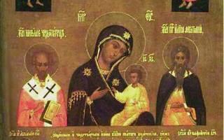 Молитва божией матери колочская. Молитва божией матери перед ея иконой, (икона божией матери «колочская»)