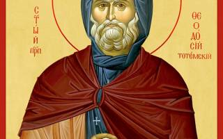 Православные церковные праздники февраля. Преподобный Феодосии Тотемский