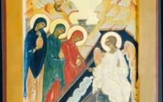 Праздник жен-мироносиц: международный православный женский день. Праздник Жен-Мироносиц – православный женский день.