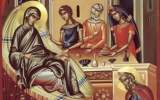 Рождество иоанна крестителя в каком облачении служат. Православный мир празднует рождество иоанна предтечи