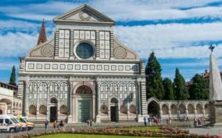 Новелла собор. Санта мария новелла во флоренции — наводы