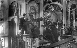 Почему коммунисты были против церкви. Церковный апокалипсис: почему большевики сносили церкви? За что боролись большевики царской России