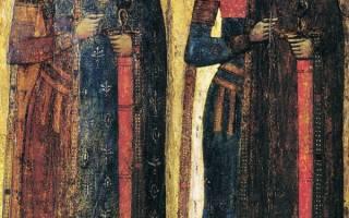 Храм в дегунино бориса и глеба расписание. Описание Церкви Бориса и Глеба в с