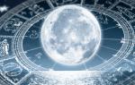 День рождения в новолуние что значит. Лунная фаза вашего рождения