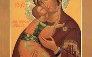 Икона владимирской божьей матери век. Владимирская икона Божией Матери: история происхождения