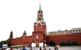 Когда будет спасская. Московский Кремль Спасская (Фроловская) башня