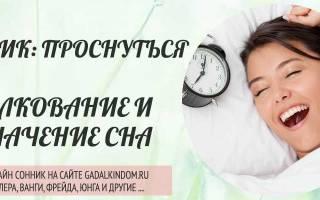 К чему снится пытаться проснуться. К чему снится спать
